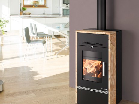 Stoves with boilers